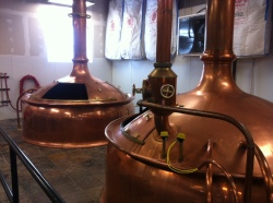 Copper Brewing Equipment straight from Germany