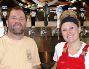 Prost Brewing's Brewers Bill Eye & Ashleigh Carter