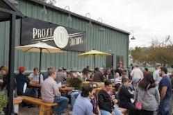 Prost Brewing's Biergarten in Denver