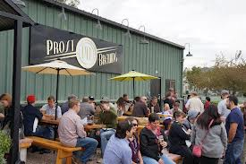 Prost Brewing's Beer Garden in Denver