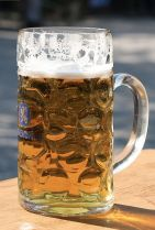 1 liter beer mug - Maß
