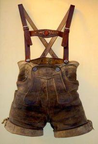 Traditional Male Dress: The Lederhosen
