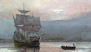 A Painting of the Mayflower