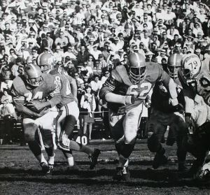 Denver Broncos 1963-64 season, Ernie Barnes No. 62