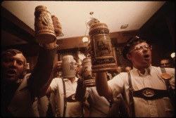 Learn German so you can sing German drinking songs!  Photo Courtesy of: National Archives and Records Administration, cataloged under the ARC Identifier (National Archives Identifier) 558266.
