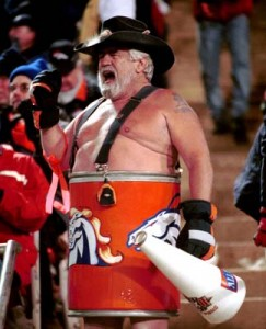 Bronco Barrel Man