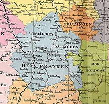 "Franconia (""Franken"" in German)"