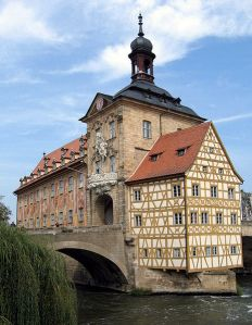 Altes Rathaus in Bamberg, Germany; Courtesy of: Asio otus under the license: http://creativecommons.org/licenses/by-sa/3.0/deed.en.