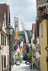 Kulmbach during the yearly Beer Festival; Courtesy of Diabas under the license: http://creativecommons.org/licenses/by-sa/3.0/deed.en.