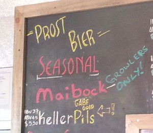 Grab a Maibock growler before they're gone